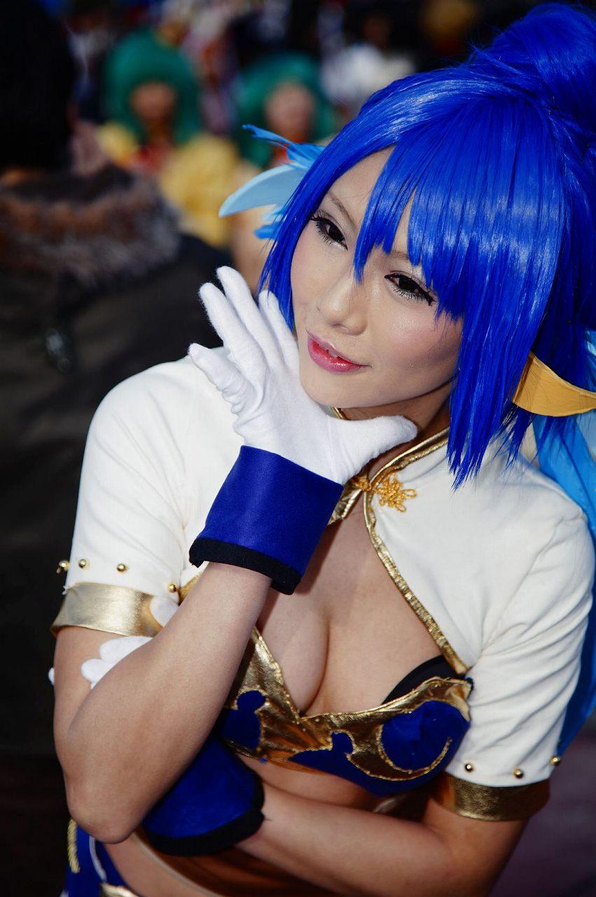 コミケ 胸チラ 乳首チラ コスプレイヤー 過激 胸元 エロ画像【46】