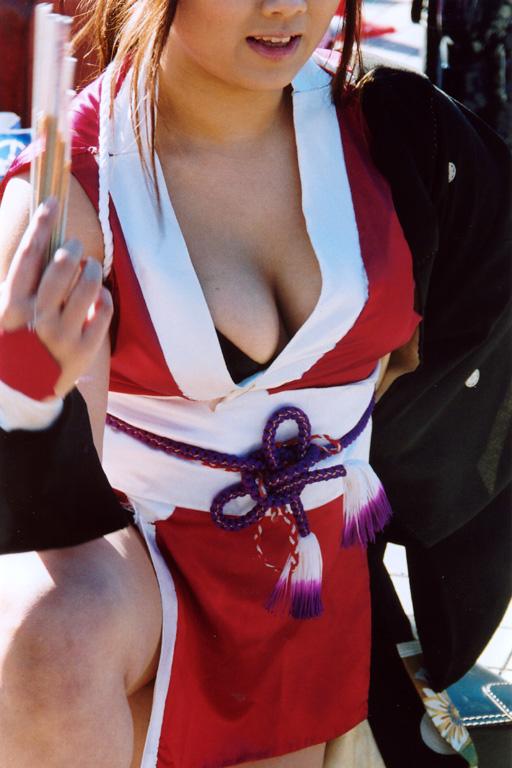 コミケ 胸チラ 乳首チラ コスプレイヤー 過激 胸元 エロ画像【51】