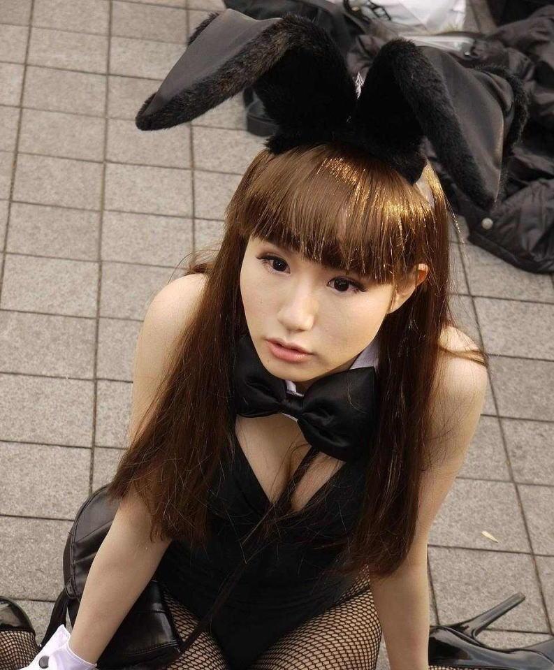 コミケ 胸チラ 乳首チラ コスプレイヤー 過激 胸元 エロ画像【55】