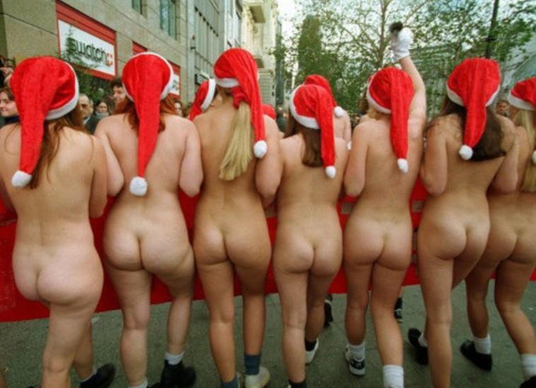 帽子 サンタ クリスマス ヌード エロ画像