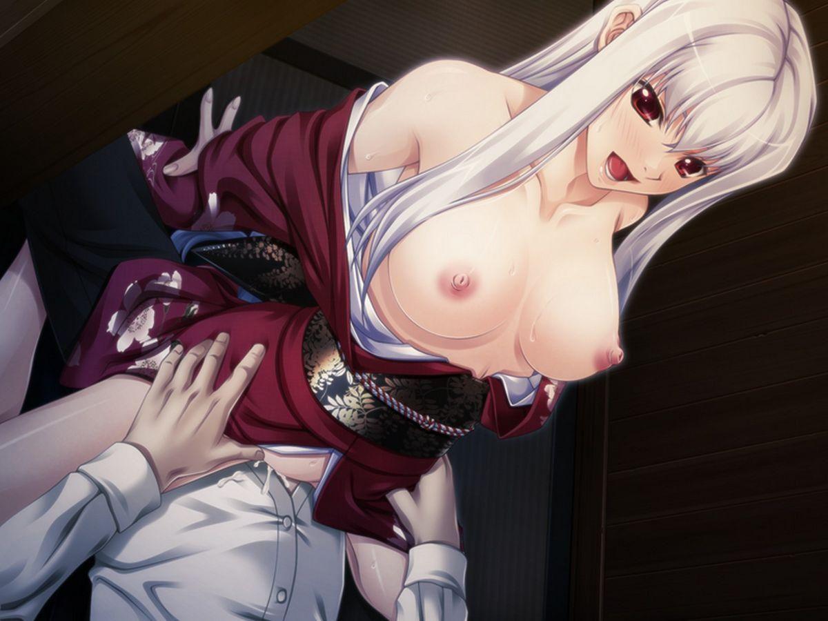 着物 振袖 セックス 姫始め 二次元 エロ画像【13】