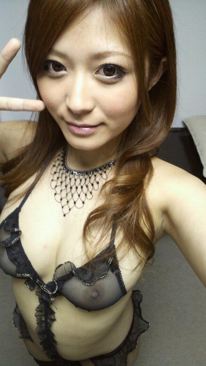 乳首 透ける ブラジャー シースルーブラ エロ画像【2】