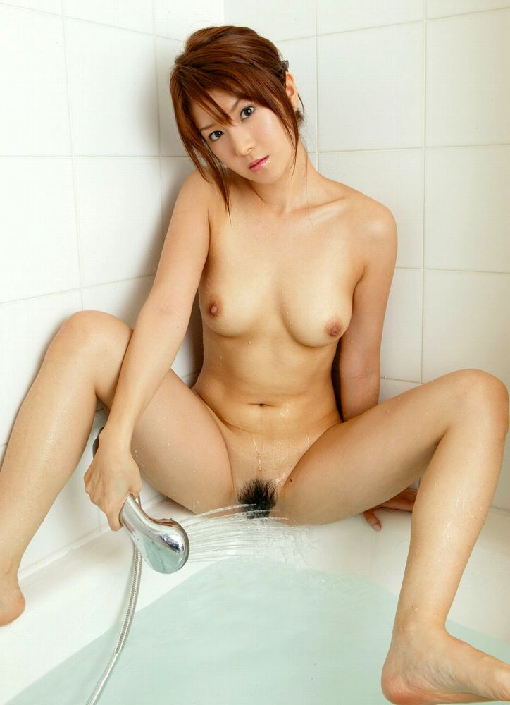 美女 シャワー オナニー マンコ 洗う 入浴 エロ画像【9】
