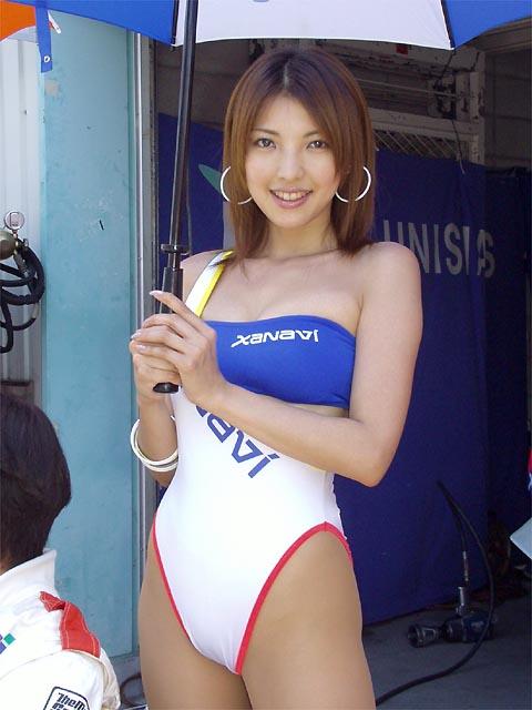 美人 レースクイーン ハイレグ 過激 S級 RQ エロ画像【20】