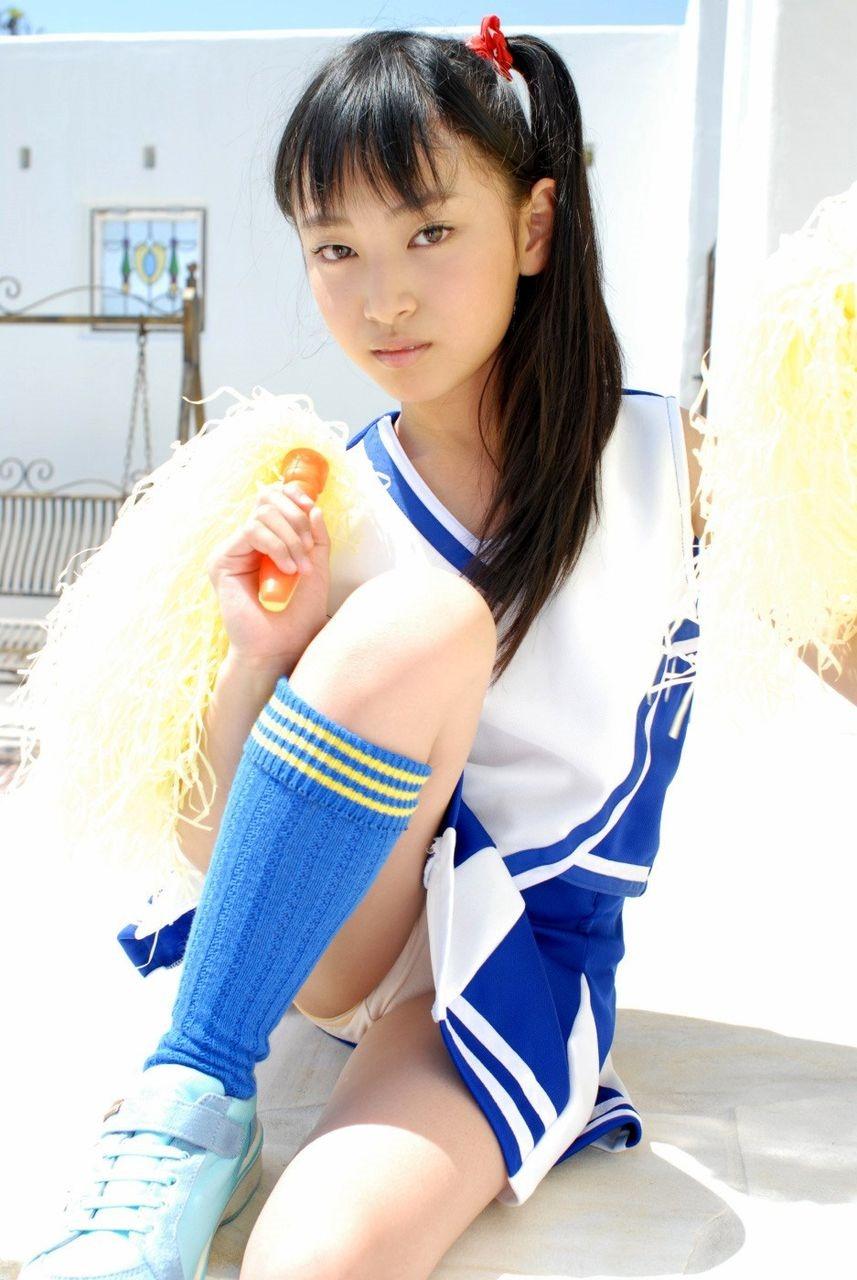 コスプレ チアガール パンチラ 股間 元気 エロ画像【18】