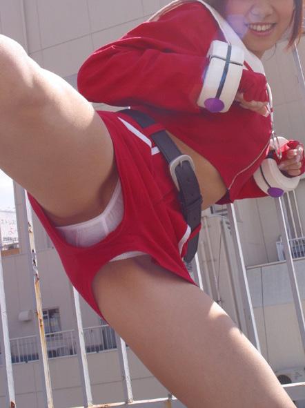 隙間 パンツ ホットパンツ ショーパン パンチラ エロ画像【35】
