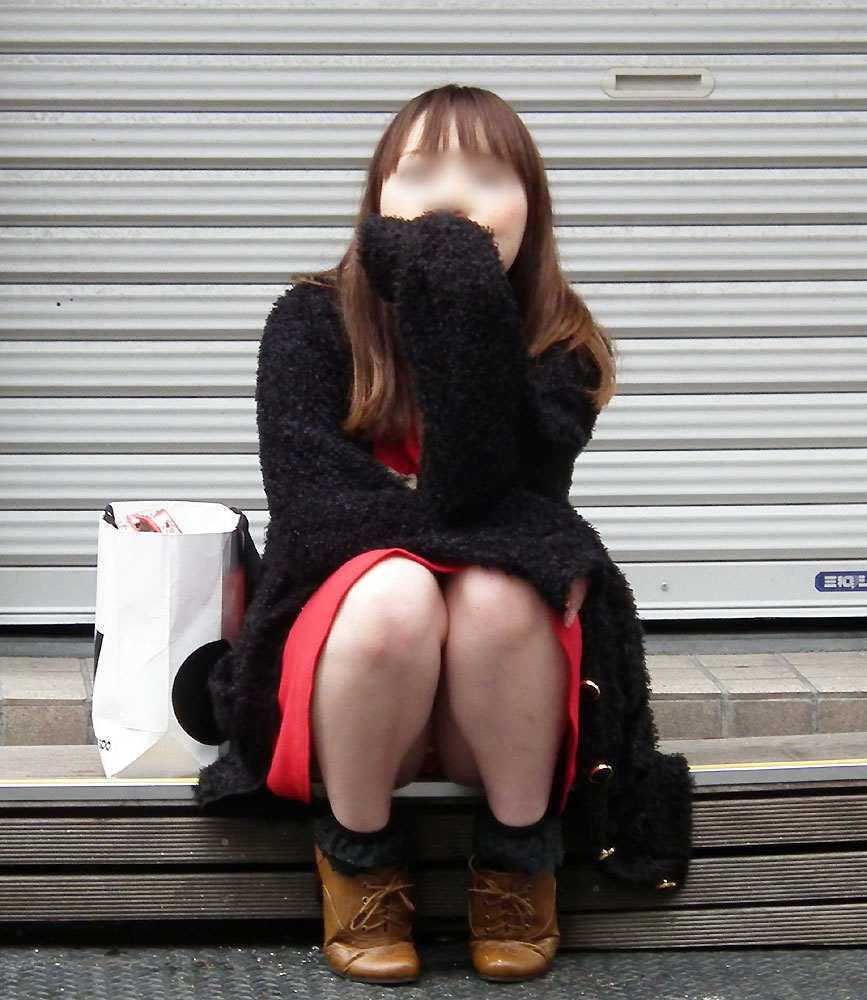 ギャル パンツ パンチラ 街撮り エロ画像【23】