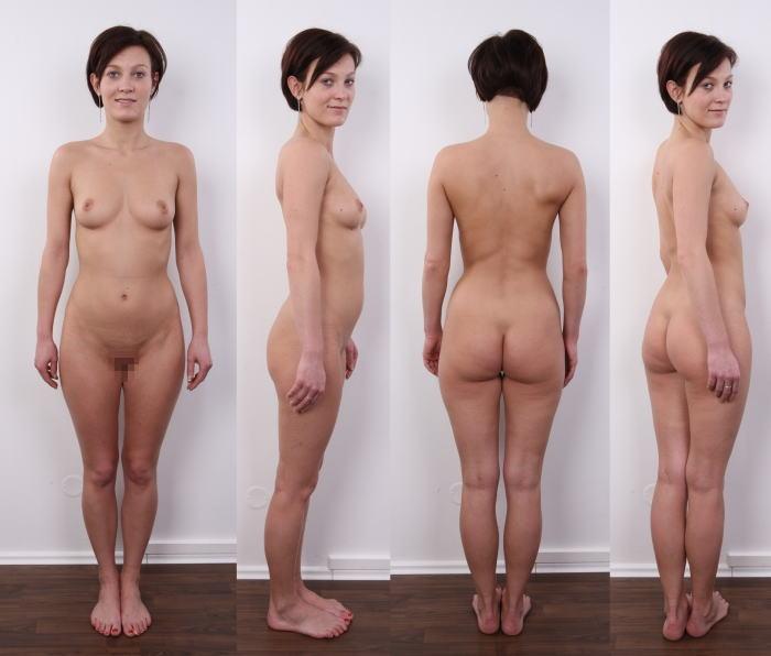 全裸 360° 回転 マルチアングル 直立 ヌード エロ画像【3】