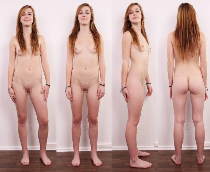 全裸 360° 回転 マルチアングル 直立 ヌード エロ画像【6】