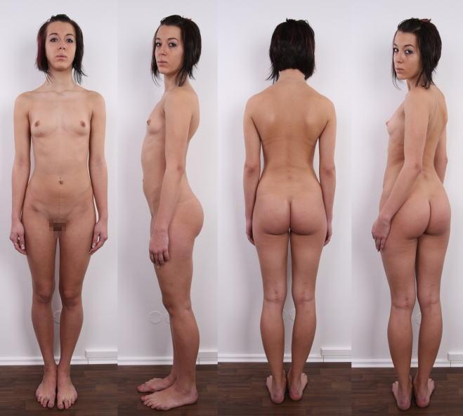 全裸 360° 回転 マルチアングル 直立 ヌード エロ画像【14】