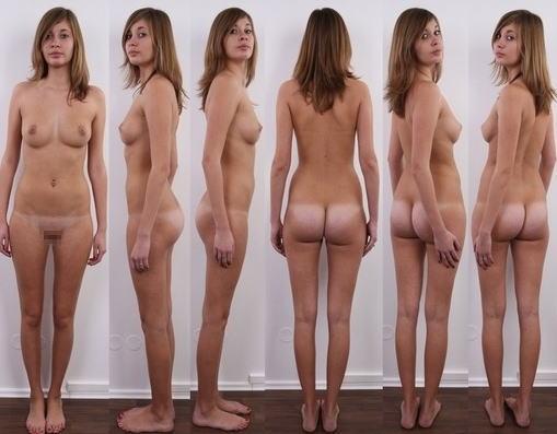 全裸 360° 回転 マルチアングル 直立 ヌード エロ画像【32】