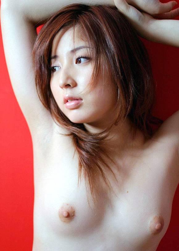 美乳 微乳 ピンク色乳首 貧乳 おっぱい エロ画像【3】