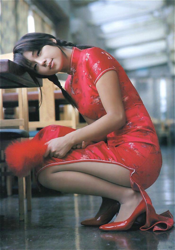 チャイナドレス 美女 セクシー 色っぽい コスプレ エロ画像【3】