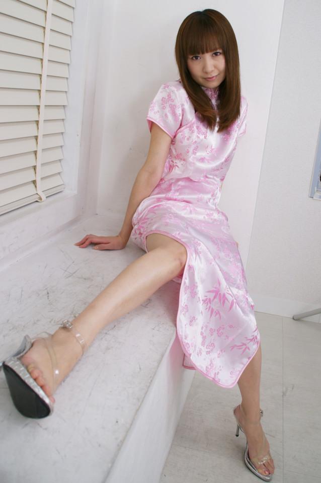 チャイナドレス 美女 セクシー 色っぽい コスプレ エロ画像【6】