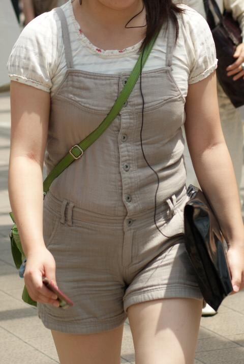 貧乳 おっぱい パイスラ たすき掛け 街撮り エロ画像【29】