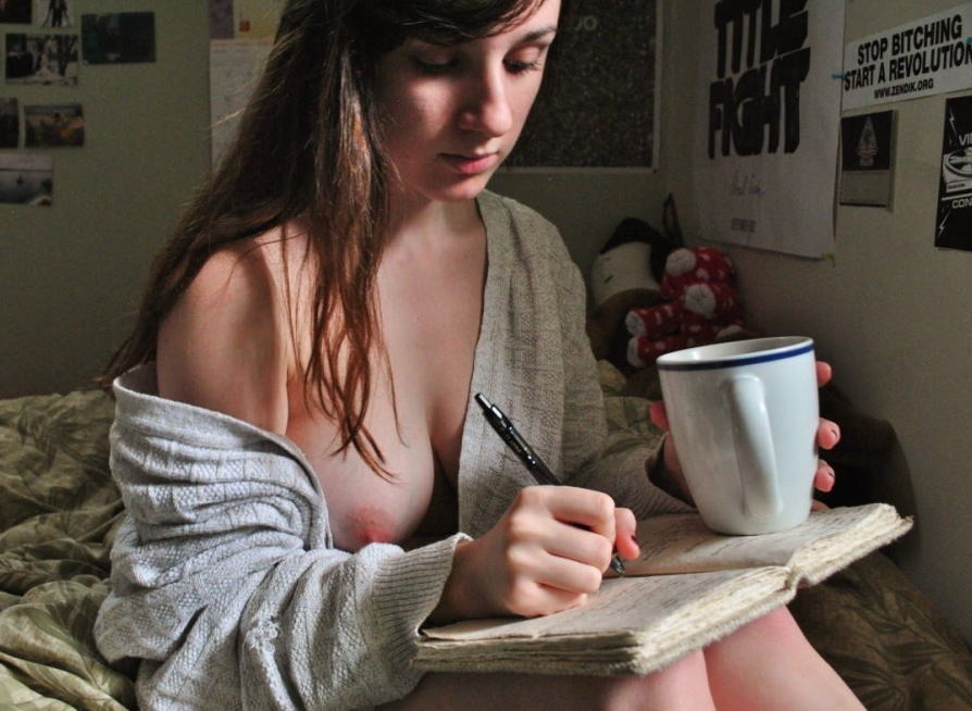 外国人 珈琲 休憩 コーヒーブレイク エロ画像