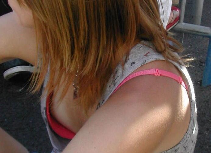 ピンク ブラジャー 可愛い 胸キュン エロ画像