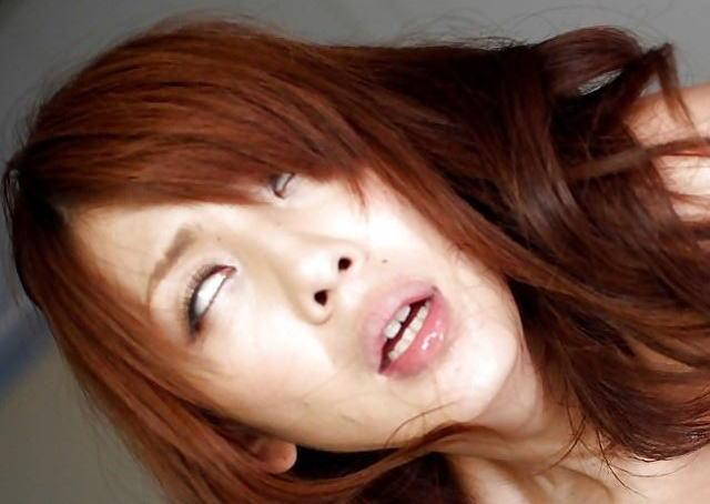 ギャル イキ顔 アヘ顔 ビッチ アクメ エロ画像【41】