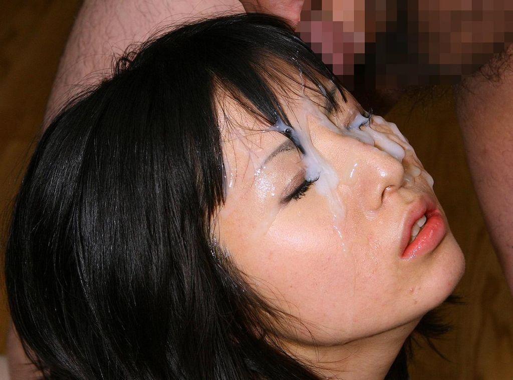 精子 顔射 ぶっかけ エロ画像【27】