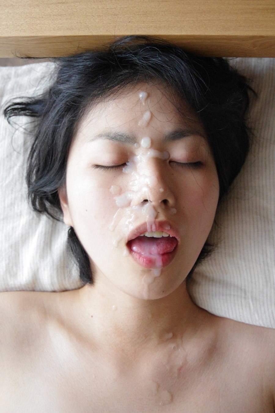 精子 顔射 ぶっかけ エロ画像【28】