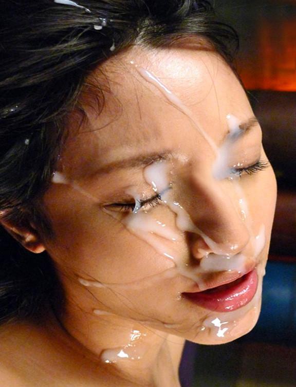 精子 顔射 ぶっかけ エロ画像【41】