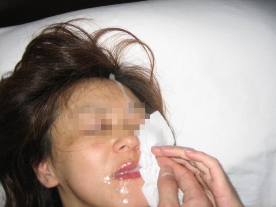 精子 顔射 ぶっかけ エロ画像【49】