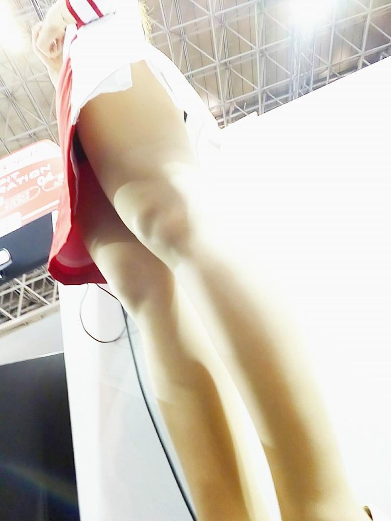 キャンギャル コンパニオン イベント パンチラ エロ画像【32】