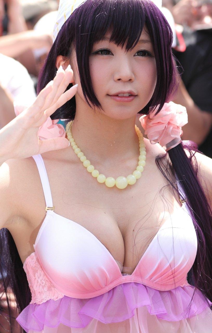 コミケ 巨乳 美女 可愛い おっぱい コスプレイヤー エロ画像【10】