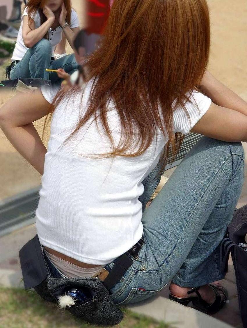 ヤンママ パンチラ 10代 20代 若い 人妻 パンツ エロ画像【25】