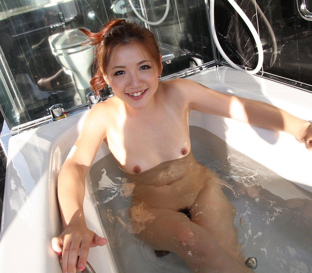 貧乳 お風呂 ぺちゃぱい 入浴 エロ画像【17】