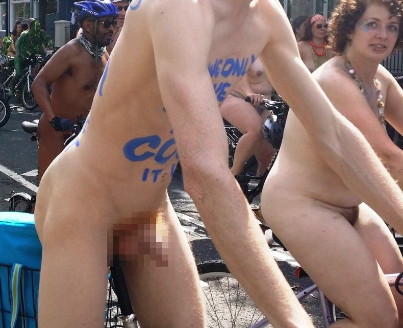 女子目線 ゲイ目線 全裸 サイクリング 男 エロ画像【5】