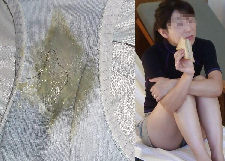 おばさん マン汁 パンツ 染み シミパン 熟女 エロ画像【43】