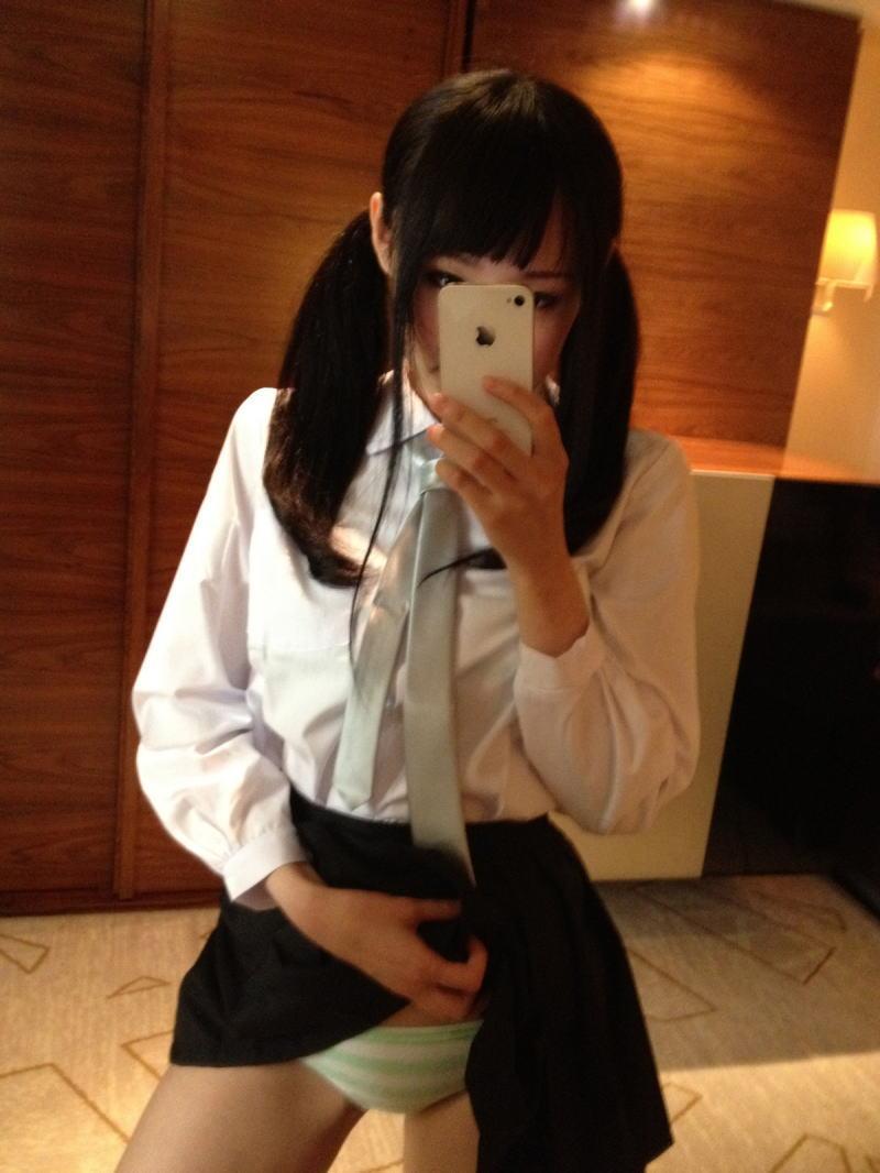 縞パン JK 制服 パンツ 萌え エロ画像【19】