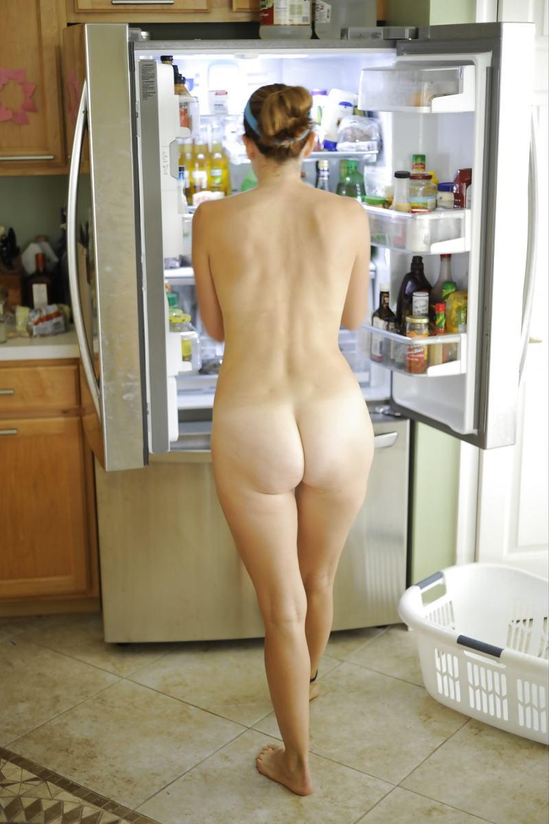 全裸 冷蔵庫 日本人 外国人 比較 エロ画像【17】