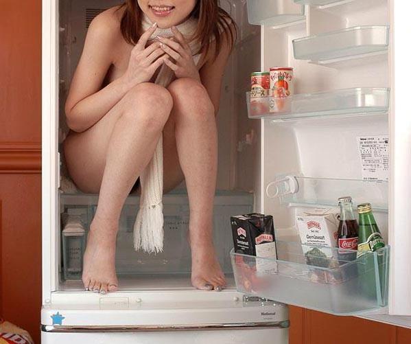 全裸 冷蔵庫 日本人 外国人 比較 エロ画像【22】