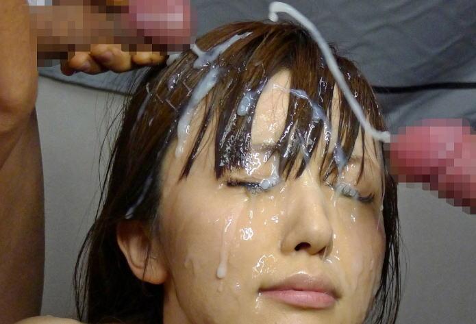 ぶっかけマニアの心をくすぐる特選美女のエロ画像!溜めに溜めた濃厚汁www