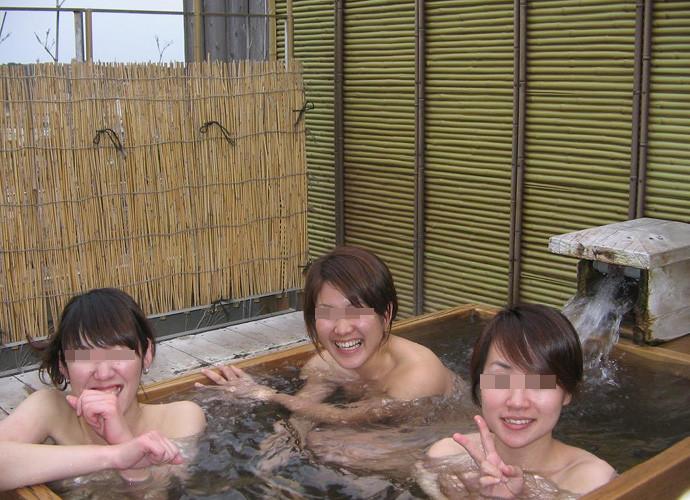 お風呂 おふざけ 記念写真 エロ画像【11】