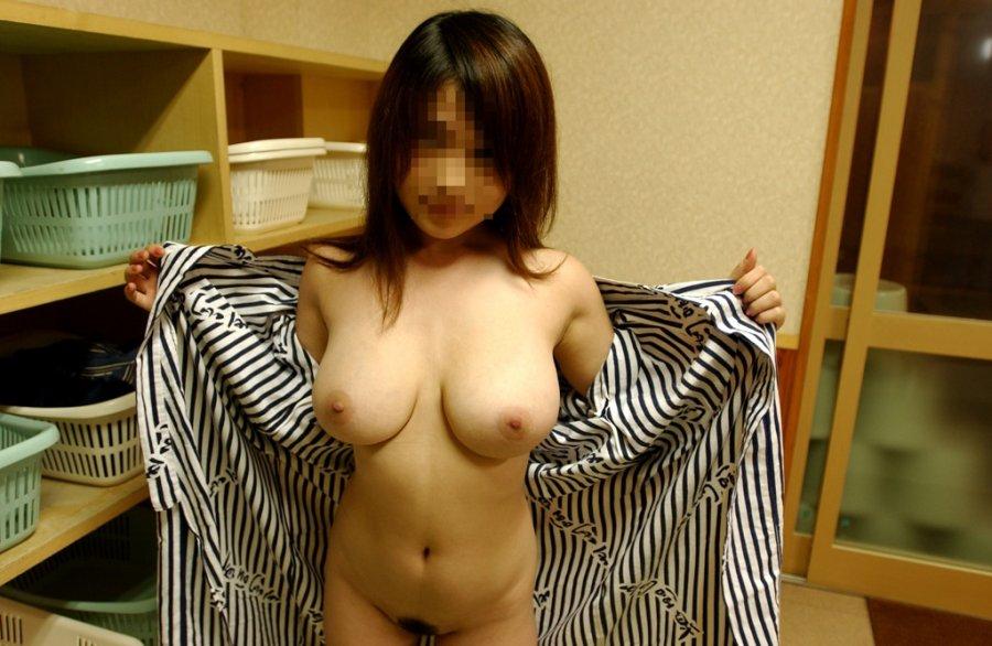 日本人 浴衣 前開き はだける 風流 エロ画像【16】