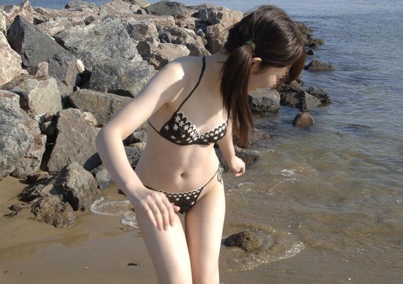 全裸 アート 水着 ボディペイント エロ画像【11】