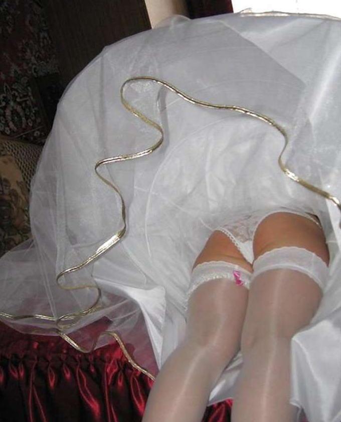 結婚式 パンチラ 外国人 花嫁 エロ画像【16】