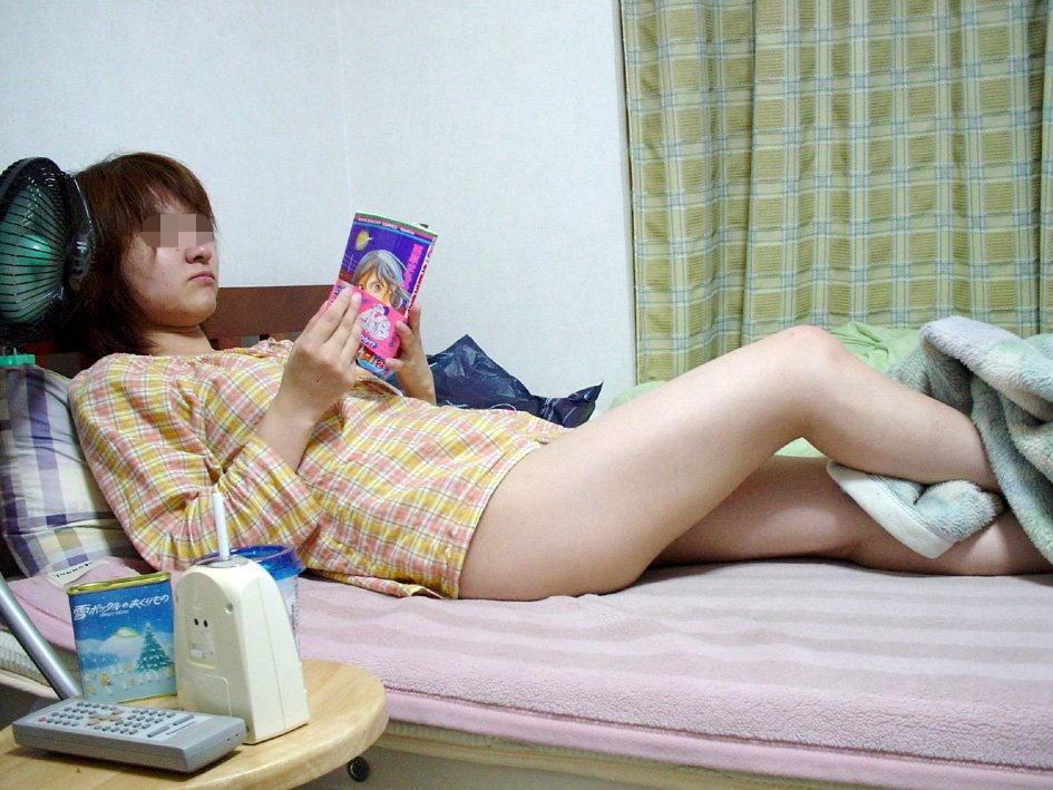 夏 扇風機 生活感 季節感 家庭内 エロ画像【3】