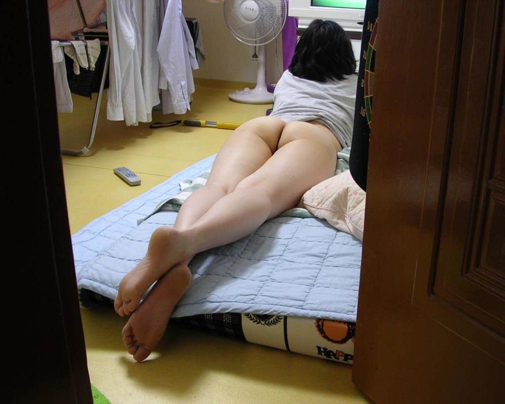 夏 扇風機 生活感 季節感 家庭内 エロ画像【5】