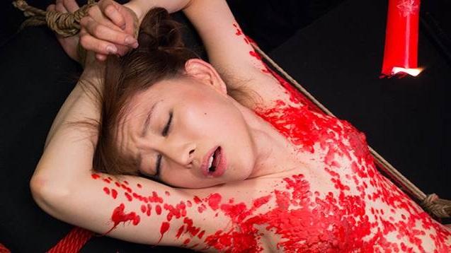 ロウソク責め 女体 蝋 垂らす SMプレイ エロ画像【29】