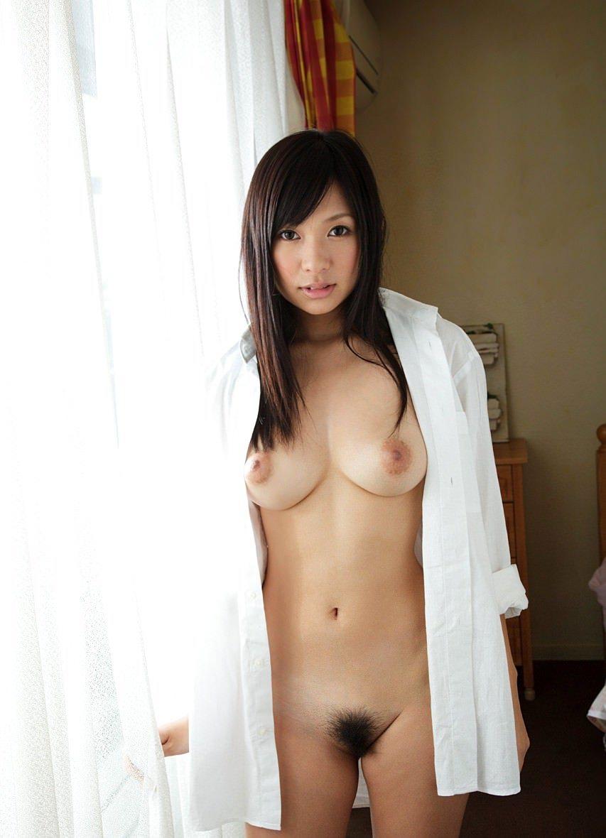 裸 白シャツ 一枚 ホワイト ヌード エロ画像【2】