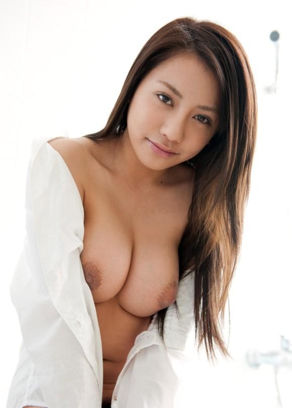 裸 白シャツ 一枚 ホワイト ヌード エロ画像【26】