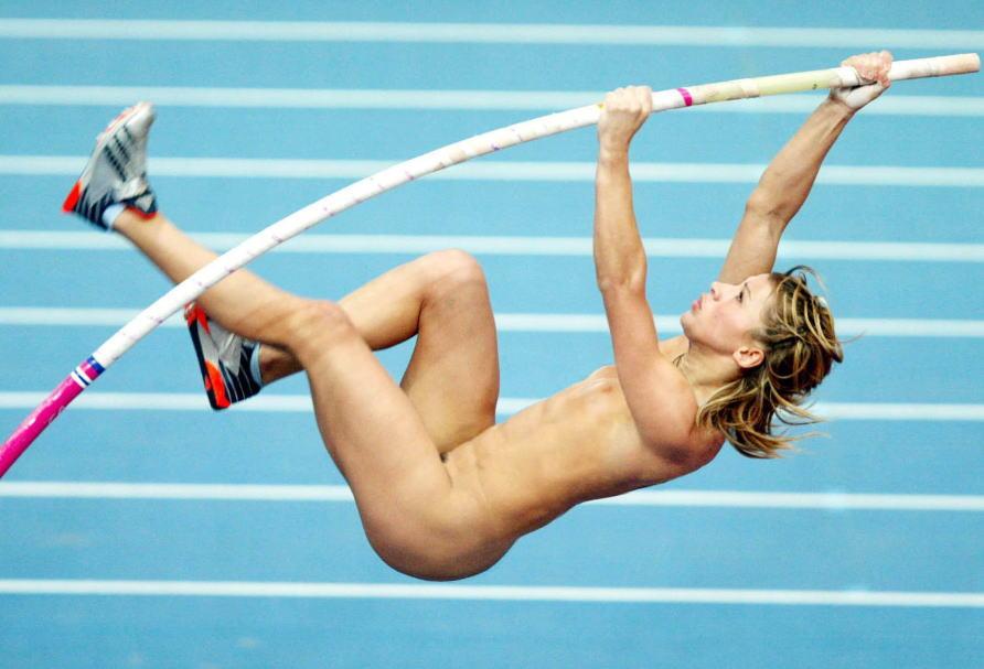 棒高跳び オリンピック競技 全裸 アスリート ヌード スポーツ エロ画像【2】