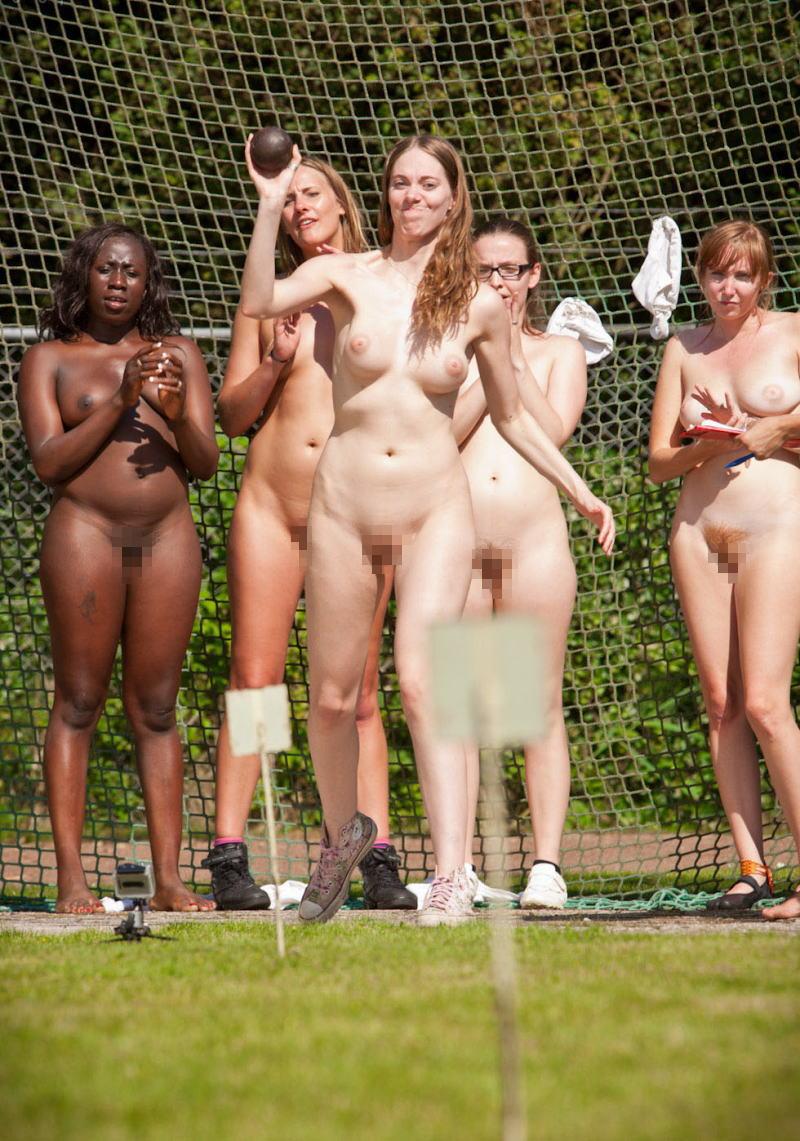 砲丸投げ オリンピック競技 全裸 アスリート ヌード スポーツ エロ画像【4】