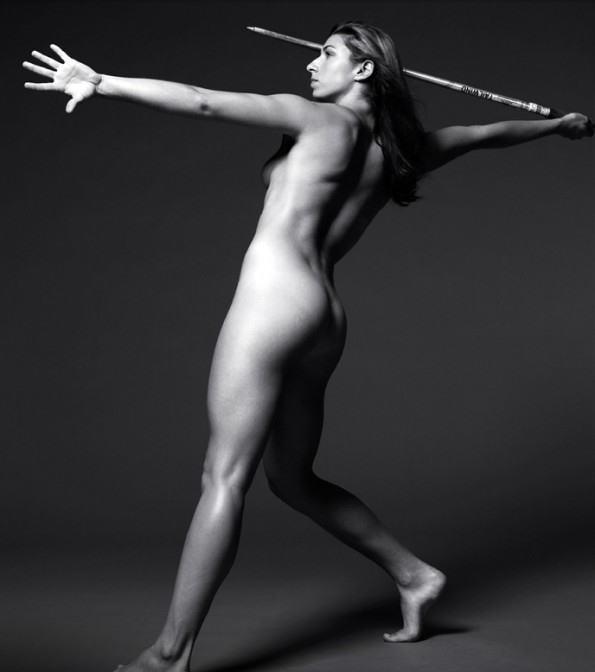 やり投げ オリンピック競技 全裸 アスリート ヌード スポーツ エロ画像【5】