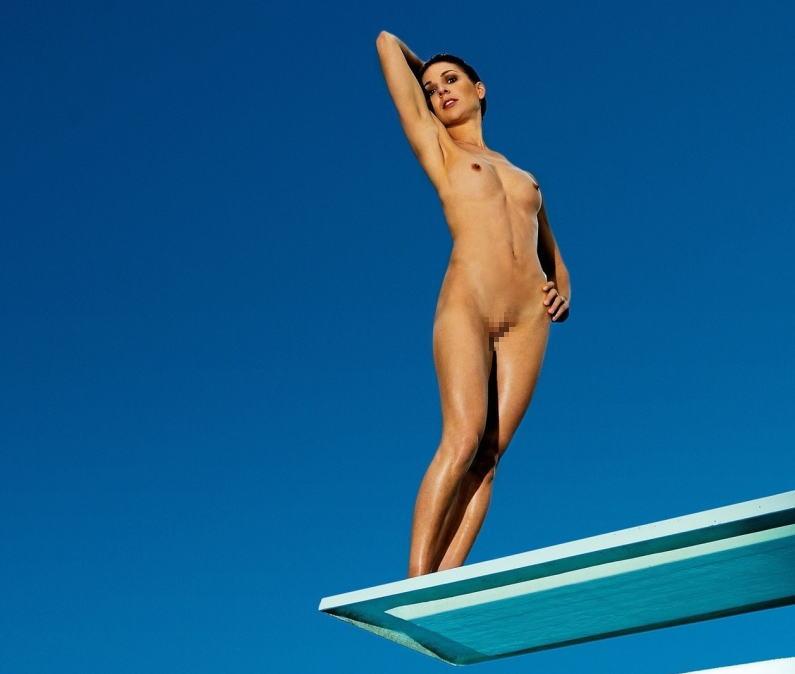 飛込 オリンピック競技 全裸 アスリート ヌード スポーツ エロ画像【8】