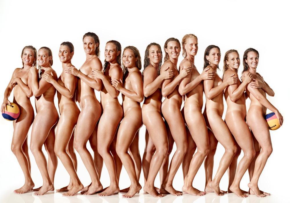 水球 オリンピック競技 全裸 アスリート ヌード スポーツ エロ画像【9】